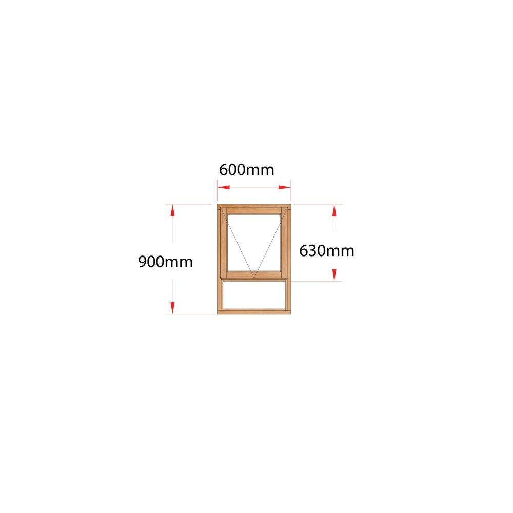 Van Acht Wood Windows Top Hung Product MF6