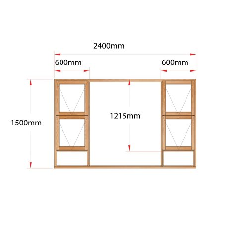Van Acht Wood Windows Top Hung Product MH24