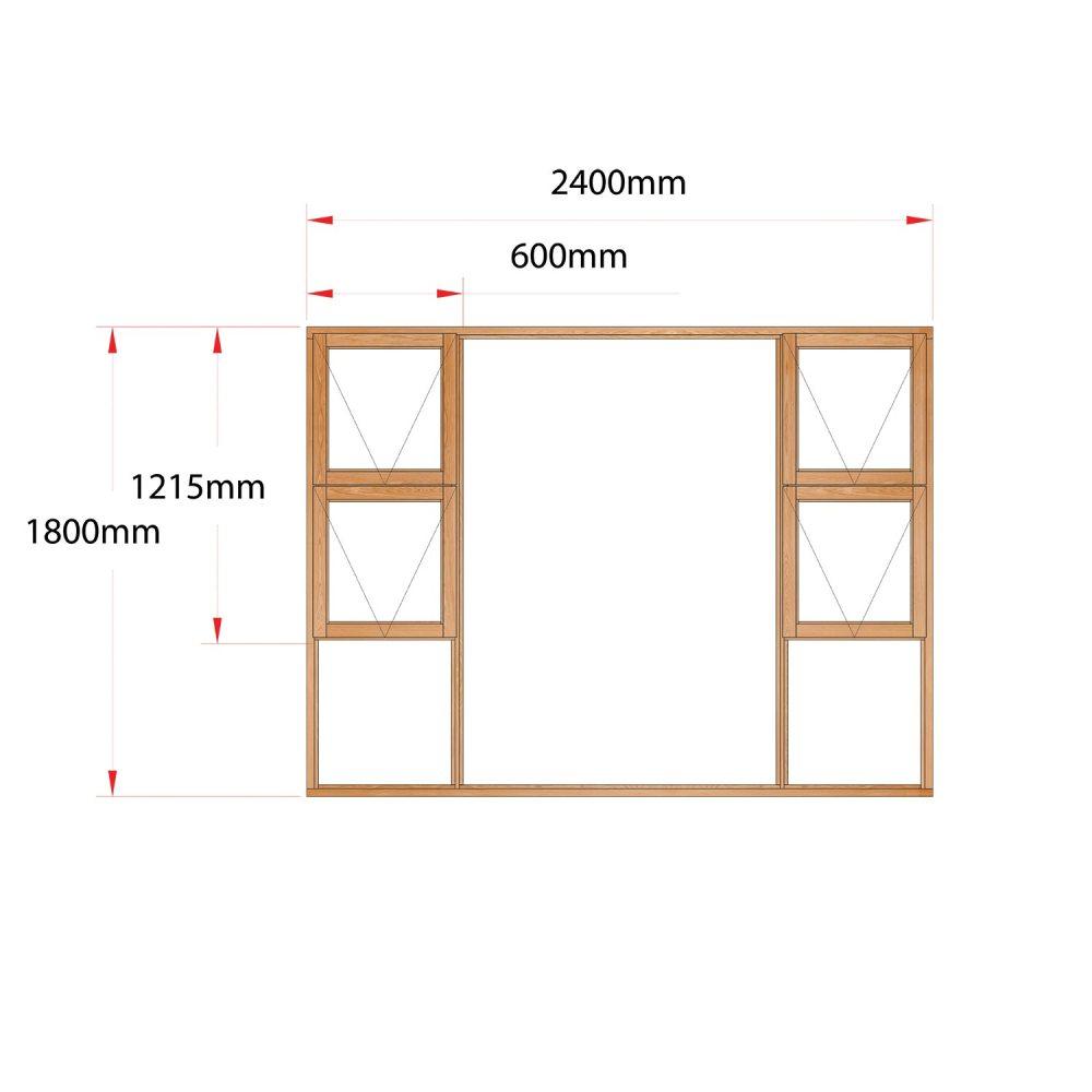 Van Acht Wood Windows Top Hung Product MJ24