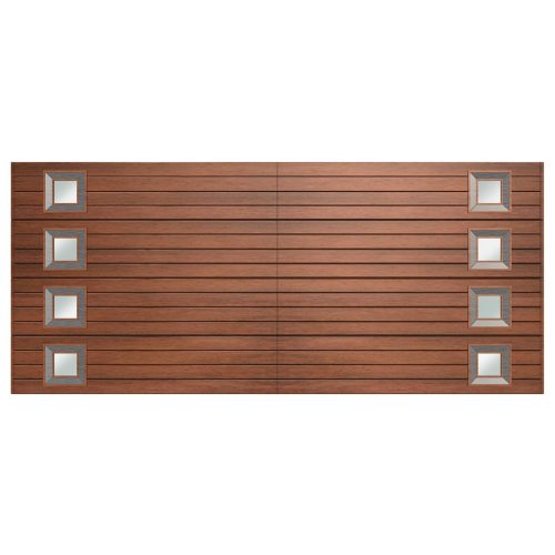 Van Acht Marine Ply Garage Door double horizontal no 9 x 2