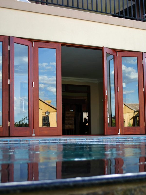 Van Acht Wood Folding Doors