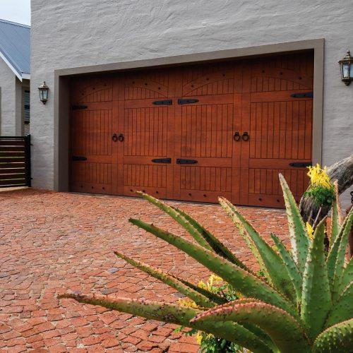 Van Acht Wood Garage Doors Marine Ply