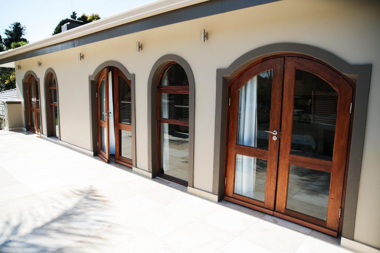 Van Acht Wood Windows Arched