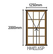 Mock Easy-Lift Sash Patended HMEL6SP