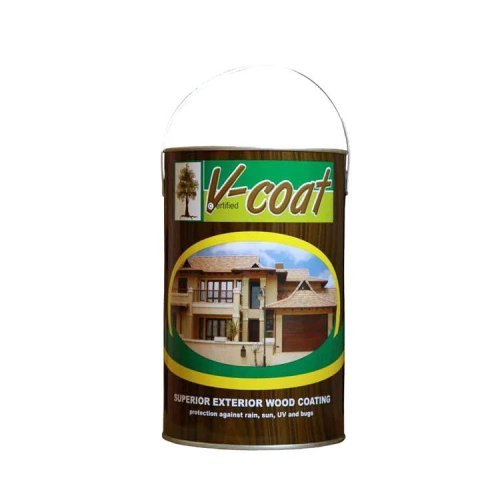 V-Coat Wood Sealer Teak 5 Litre Tin