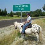Van Alstyne,TX Population Sign - www.VanAlstyneHomes.com