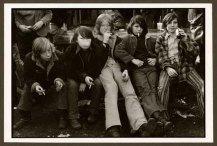 "VPL 86863 ""Teenage boys with cigarettes"". NIna Raginsky. 1972."