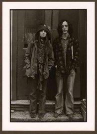"""VPL 86864 """"Young couple in doorway"""". Nina Rajinsky. 1972."""