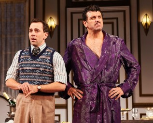 """Rob McClure and Bradley Dean in """"A Comedy of Tenors."""" PHOTO: Roger Mastroianni"""