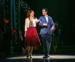 """Laura Osnes as Julia and Corey Cott as Donny in the Paper Mill Playhouse production of """"The Bandstand."""" (PHOTO: Jerry Dalia)"""