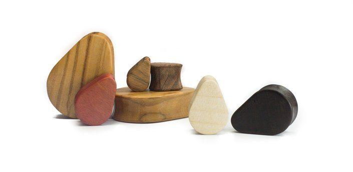 Holz Teardrops Moabit Olive - van branch - Gruppe