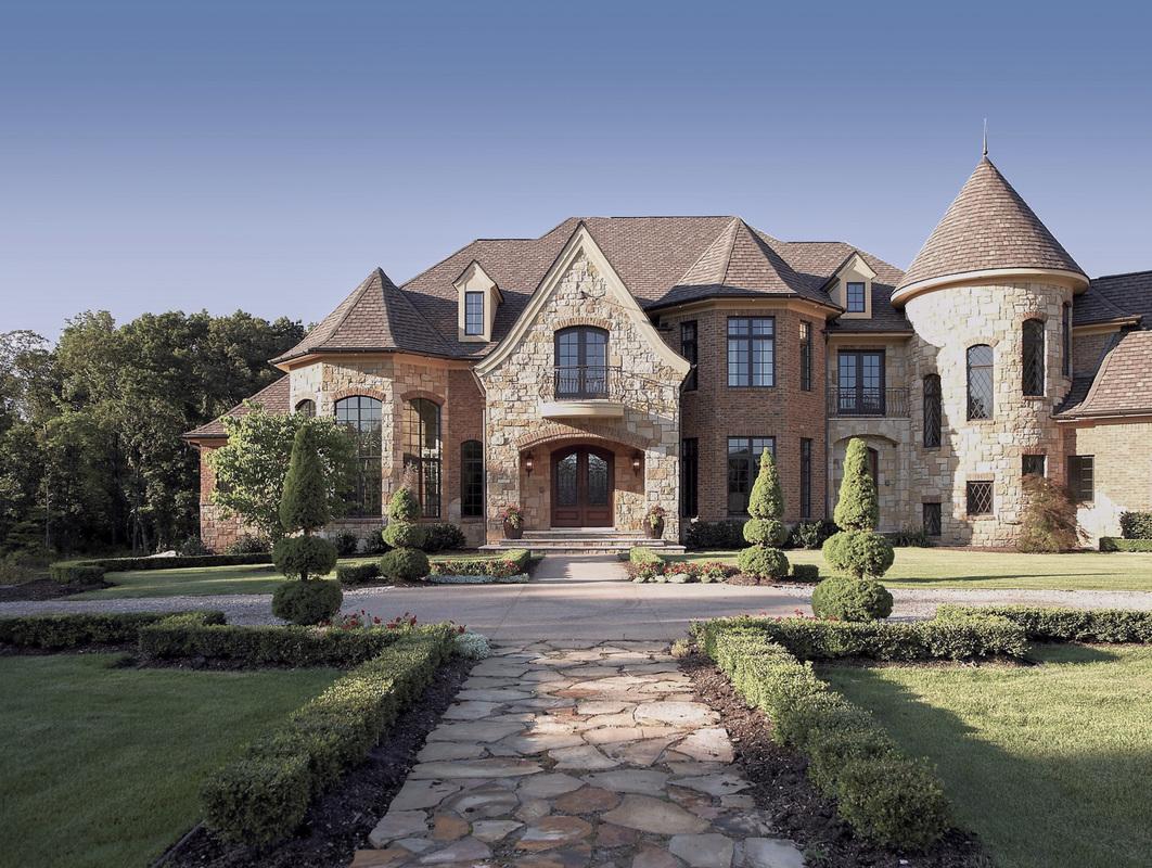 French Country Estate  Vanbrouck & Associates  Vanbrouck