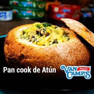 como hacer pan cook de atún