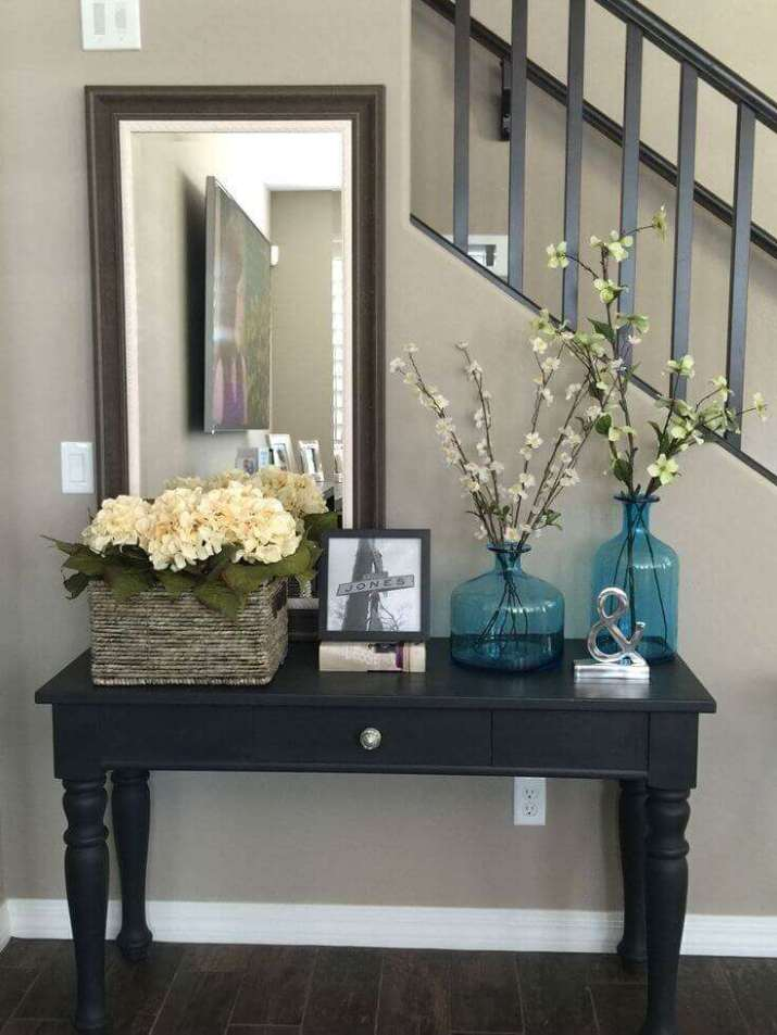 Classical Study Entryway Table