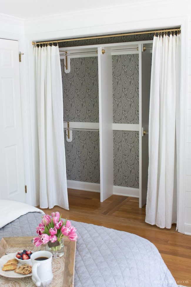 alternative closet door ideas