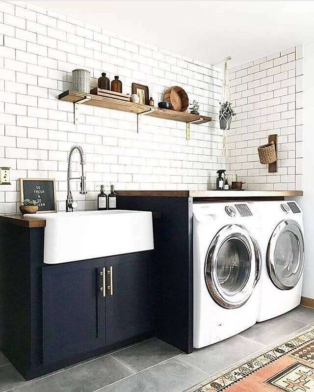 basement bathroom laundry room ideas
