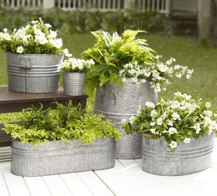 flower pots for front door