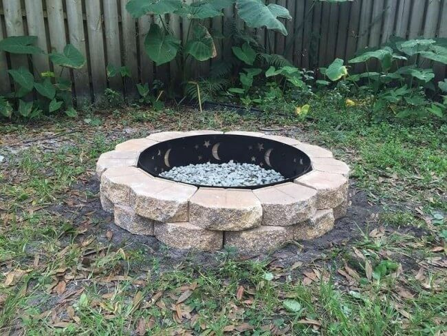 brick fire pit ideas