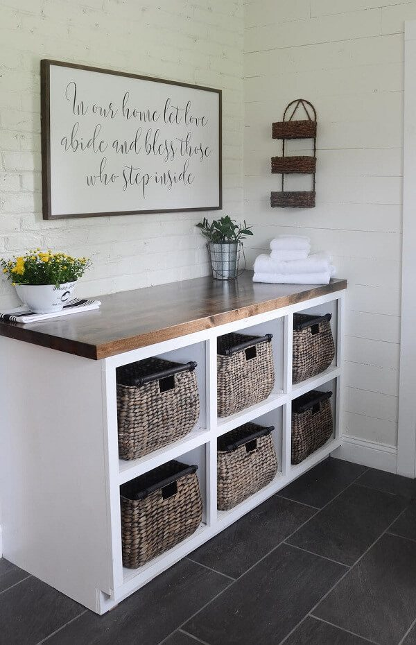 mud room/ laundry room rustic farmhouse