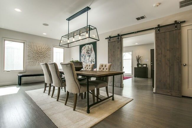 dining room sets farmhouse style
