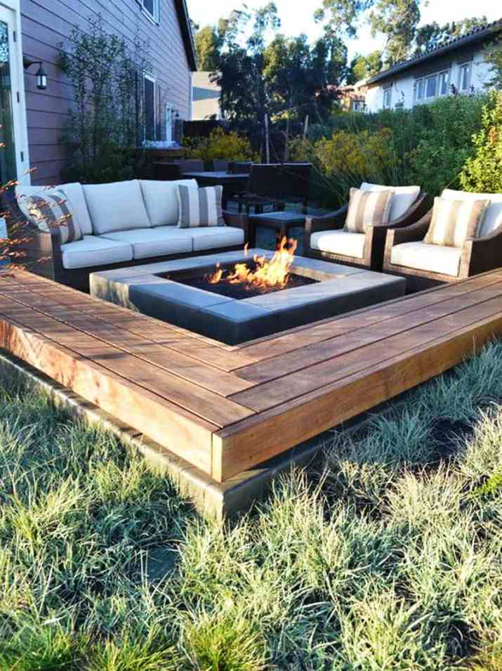 fire pit landscaping ideas