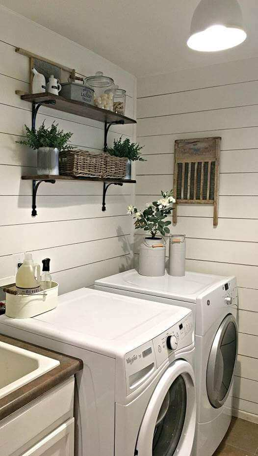 farmhouse laundry room sign