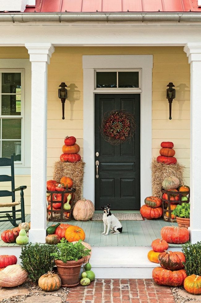 fall porch decor 2018