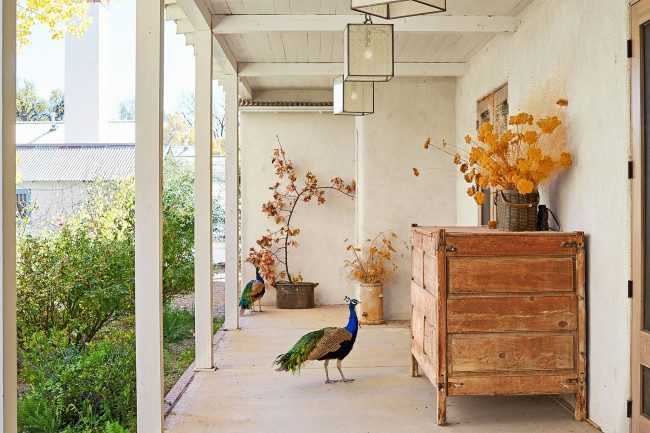 fall outdoor porch decor ideas