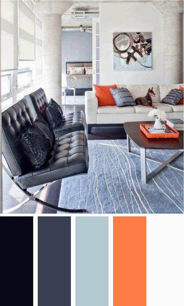 brown and grey living room color schemes