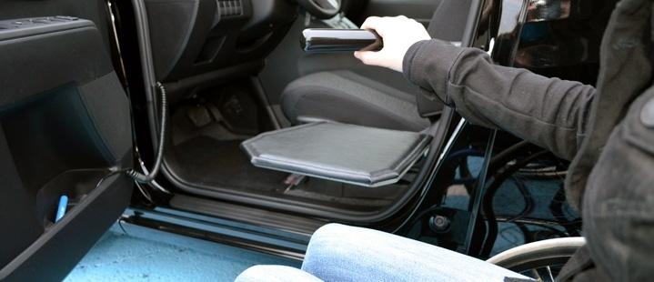 Vehicle Access Transfer Boards Buffalo NY  Boulevard Van