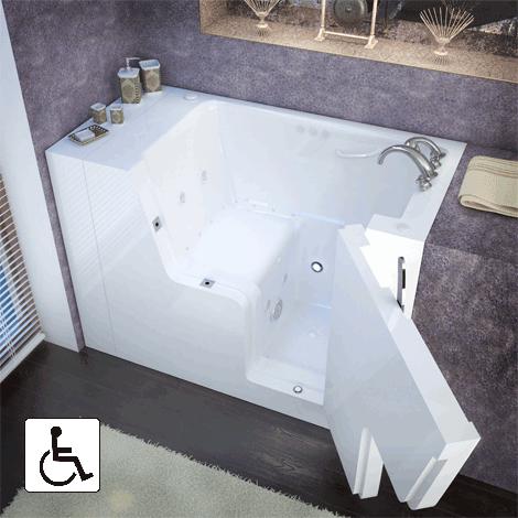 Wheelchair Accessible Tubs Walk In Tubs Tonawanda Meditub