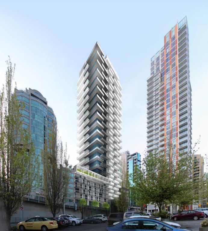 Vancouver Apartments: Vancouver Building