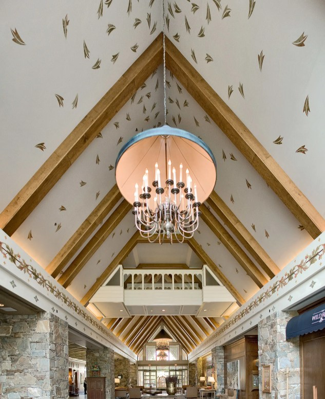 Photography of The Fairmont Chateau Whistler lobby