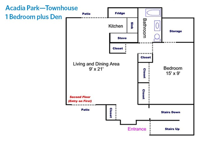 Acadia Park Sample Floor Plans