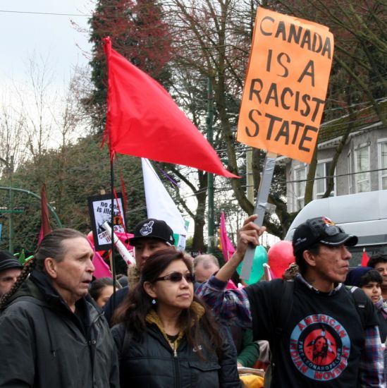 We Need to Fight Back Community March Against Racism takes to Vancouver streets  Vancouver