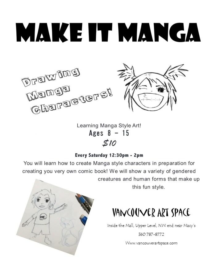 manga flyer