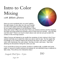color mix flyer