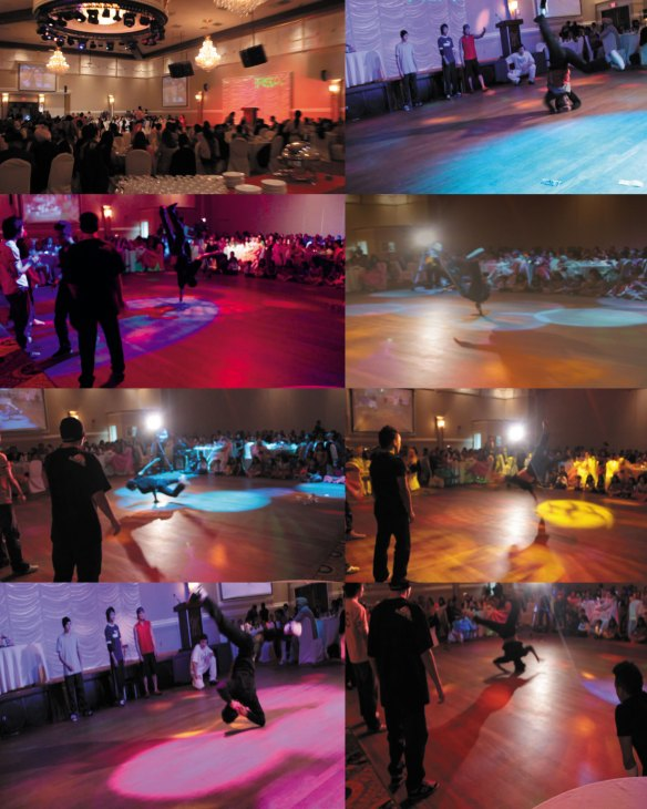 bboybackcollage - Vancouver Wedding Photography - Vancouver Breakdancers