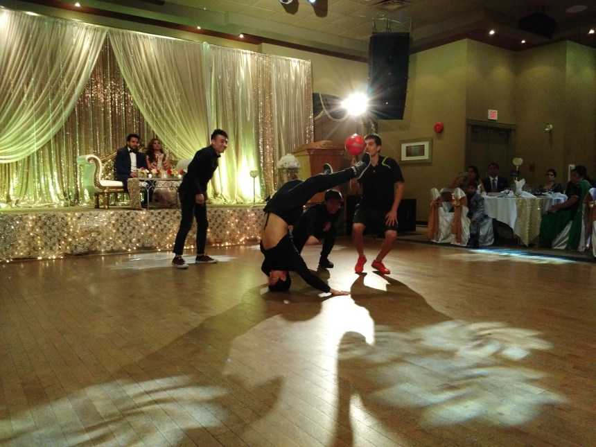 Vancouver Breakdancers for Indian Wedding