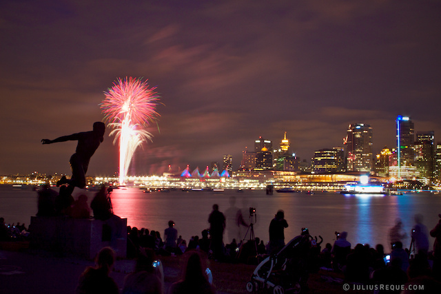 Canada Day Fireworks  Vancouver Dinner Cruises