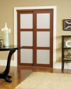 2401-3-Lite-Frosted-GlassSliding-Door