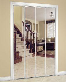 Framed-Bifold-MIrror-Door