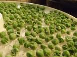 Frozen peas!