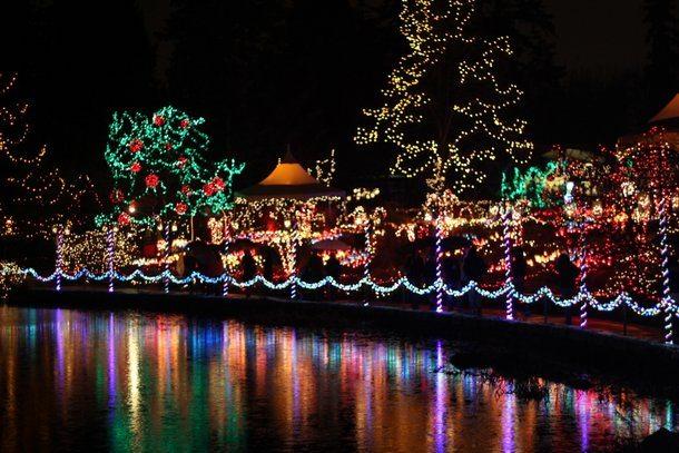 VanDusen Festival of Lights - Vancouver Christmas Activities