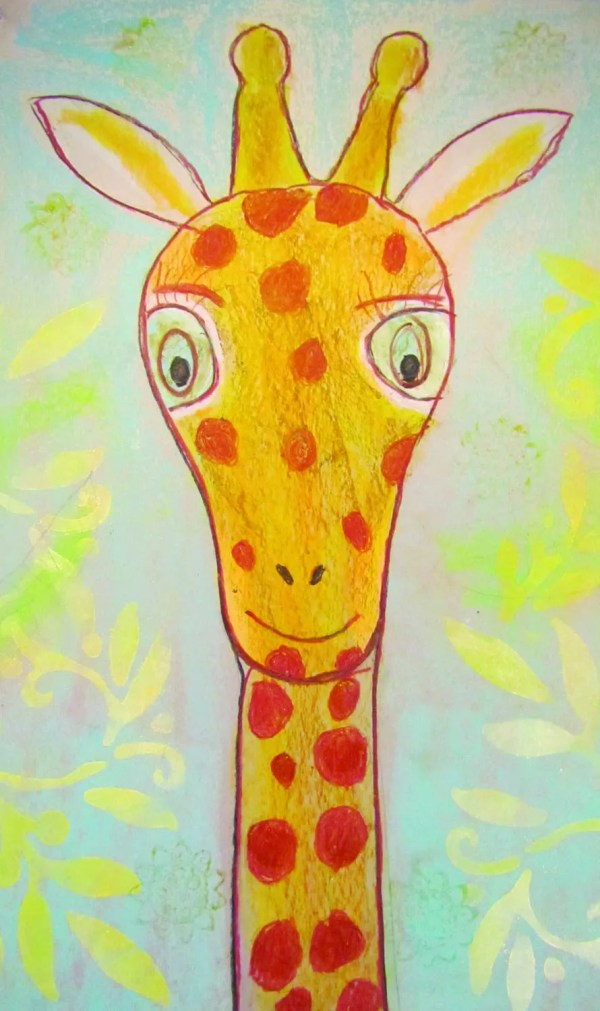 Kids Giraffe Art Crafts