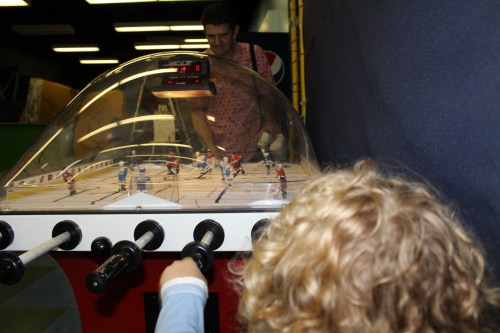 kid-friendly vancouver Bubble Hockey