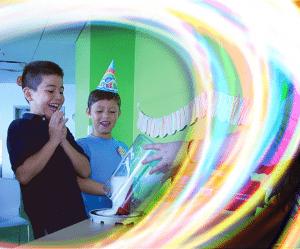 science world birthday parties