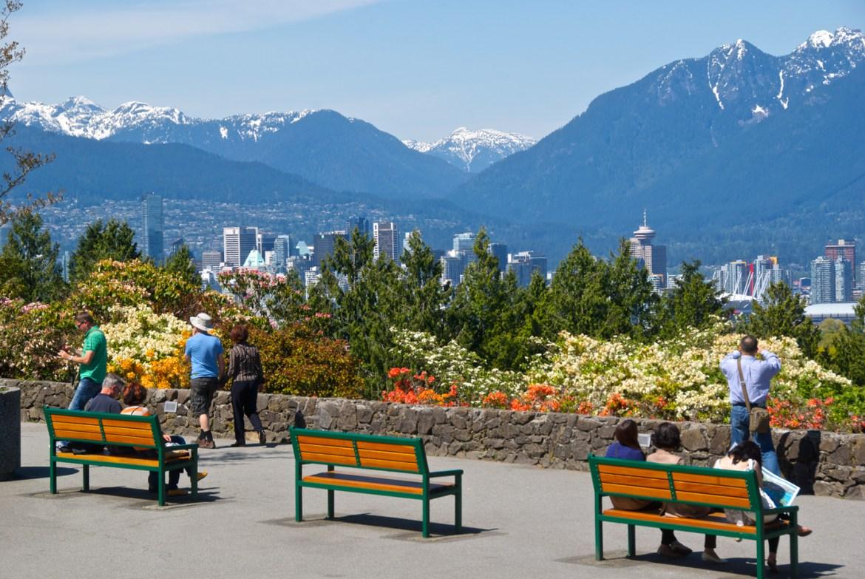 Spring Baby Walks in Vancouver: Queen Elizabeth Park