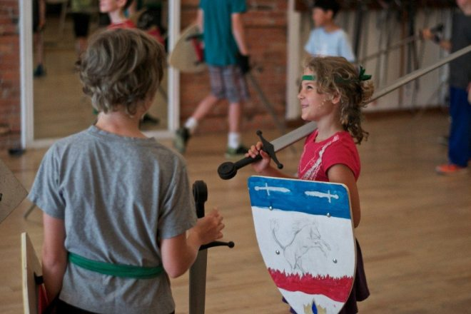 Cool Spring Break Camps: Academie Duello Knight Camp