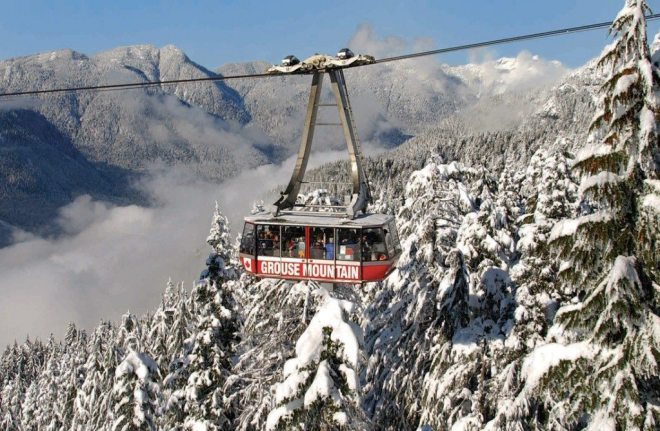 Contest Enter To Win Four Grouse Mountain Ski Tickets